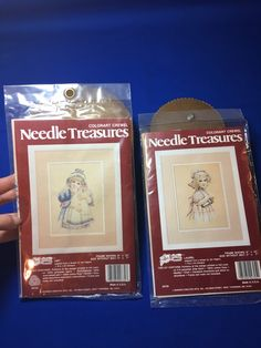 A personal favorite from my Etsy shop https://www.etsy.com/listing/515920469/1-vintage-needle-treasures-colorart