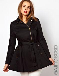 Plus Size Trench Coat | Swa-Rai
