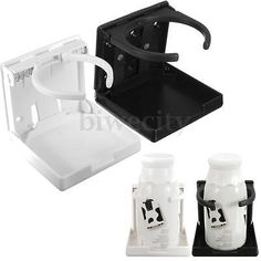 #Black / white #nylon adjustable folding drink cup holder for boat #yacht car tru, View more on the LINK: http://www.zeppy.io/product/gb/2/322191670692/