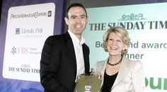 2009-Barbour wins Best Brand of the Year Award at the Sunday Times PricewaterhouseCoopers Profit Track 100 Awards in London in June