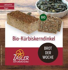 Gestärkt in die Woche starten mit unserem BIO-Kürbiskerndinkel Brot! 💪  Feinschmeckerdelikatesse mit angerösteten Kürbiskernen und der Dinkelsorte Oberkulmer Rotkern ohne züchterische Weizeneinkreuzungen. 🌾 #zagler#zaglerbäckerei#bäckereizagler#bäcker#bäckerei#backwaren#brot#frischesbrot#kürbiskernbrot#dinkelbrot#vegan#veganesbrot#laktosefrei#laktosefreiesbrot#gesundesbrot Vegan, Desserts, Food, Spring, Deli Food, Baked Goods, Tailgate Desserts, Deserts, Essen
