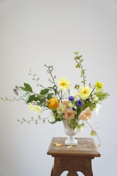 Colorful Flowers in a Vase, Adding Color to Any Area in Your Home