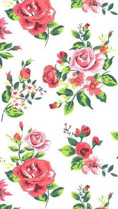 Imagen de wallpaper, flowers, and background Floral Wallpaper Desktop, Cute Wallpaper For Phone, Cute Girl Wallpaper, Wallpaper Iphone Disney, Cute Wallpaper Backgrounds, Print Wallpaper, Flower Wallpaper, Mobile Wallpaper, Cute Wallpapers