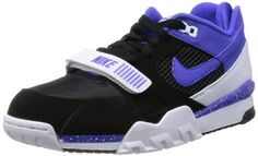 Nike Mens Air Trainer 2 Prm QS BlackPersian VioletWhite Training Shoe 105 Men US >>> For more information, visit image link. (This is an affiliate link)