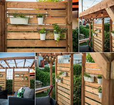 My new patio with intime wall and green wall Pergola Canopy, Diy Pergola, Gazebo, Backyard Pavilion, Backyard Patio Designs, Outside Living, Outdoor Living, Fire Pit Swings, Jacuzzi