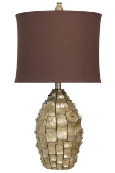 Brisbane 34.5'' Table Lamp with Drum Shade