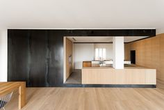 wood and iron apartment - Varese, Italy - 2012