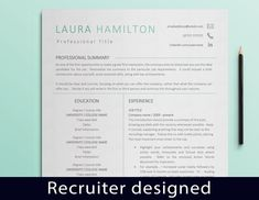 Modern Resume template, Professional CV template, CV Design, Cover Letter template, Resume icons, Curriculum Vitae, Reference letter by DevelopingCareers on Etsy Cover Letter Template, Cover Letter Design, Letter Templates, Modern Resume Template, Cv Template, Resume Templates, Resume Icons, Resume Cv, Marketing Resume