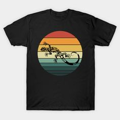 Retro 80s Tropical Sun Vaporwave Summer Curly Lizard - Retro 80s Tropical Sun Cute Lizard - T-Shirt | TeePublic Unique Fashion, Retro Fashion, Fashion Design, Cute Lizard, Advertise Your Business, Vaporwave, Lovers Art, Curly, Tropical