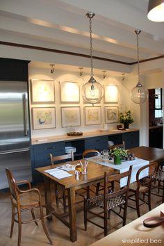 kitchen art gallery | San Francisco Decorator Showcase | Alison Davin, Jute Interiors