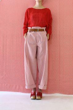 Daniela Gregis washed long sirio trousers