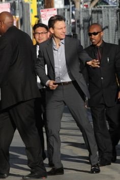 Tony Goldwyn outside Jimmy Kimmel Live, 20th March 2014