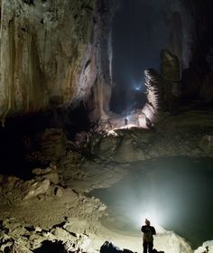 Worlds largest cave in the heart of the Vietnamese jungle.