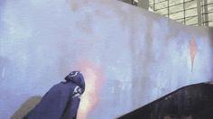 Interactive magic wall.