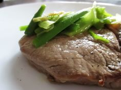 FORNELLI IN FIAMME: TENDERLOIN OF PIEDMONTESE FASSONE WITH SAUTEED BUT...
