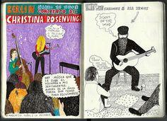 Christina Rosenvinge + Micah Blue Smaldone + Asa Irons / Berlín- Bruselas/ Powerpaola