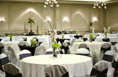 The Grand Ballroom is 5,394 square feet and ideal for elegant wedding receptions or a General Session to host up to 500 people. The Ballroom can break into three separate rooms also, Riverside I, II & III.