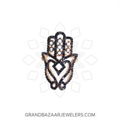 Customize & Buy Hamsa Hand of Fatima Silver Rings Online at Grand Bazaar Jewelers