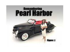 Remembering Pearl Harbor Figure II For 1:24 Scale Models by American Diorama - Packed in a blister pack. Only one figure will be received. Each standing figure is approximately 3 inches tall.-Weight: 1. Height: 5. Width: 9. Box Weight: 1. Box Width: 9. Box Height: 5. Box Depth: 5