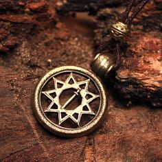 Bronze Star of Yngly Slavic Russian Obereg by MAGICrebEL on Etsy, $30.99