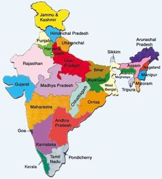 the 41 best map of india with states images on pinterest india