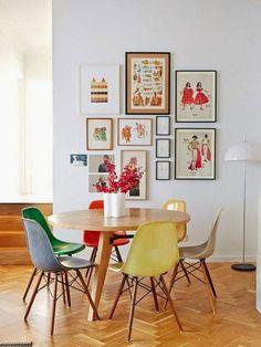 12 fantastiche immagini su tavoli tondi   Round dining, Round ...