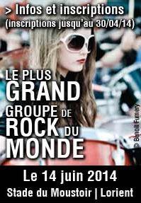«Rockin'1000»: le plus grand groupe de rock du monde - Soirmag