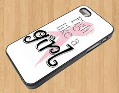 Fight Like A Girl  Iphone case for Iphone 4 4S sm2085