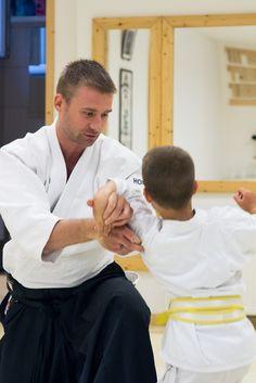 Children class @Aikido Shurenkan Dojo