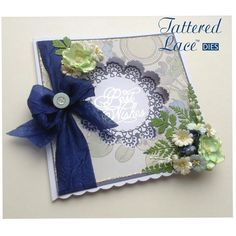 Tattered Lace Royal Lace collection Tattered Lace Cards, Save The Day, Lace Flowers, Wedding Cards, Birthday Cards, Christmas Cards, Diy Crafts, Paper Crafts, Birthdays