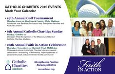 Each year we hold several key events including our annual Golf Event, Faith in Action Celebration, and Aging Conference. Fundraising Events, Upcoming Events, Charity, Catholic, Action, Faith, Celebrities, Group Action, Celebs