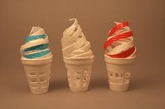 Image result for styrofoam cup sculpture