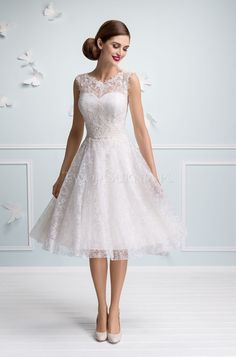 Sukienki slubne krotkie