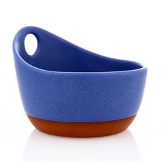 Handled Soup Bowl by Paul Eshelman. Available at ClayAkar.
