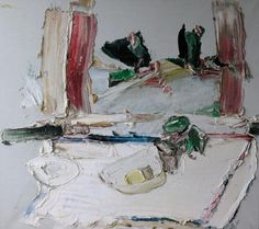 Manoucher Yektai - Abstract Expressionist Painter 1950'S To Present