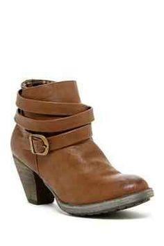 Bucco Kezia Strapped Ankle Bootie - hautelook.com