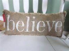 shabby chic burlap crafts - Bing Images  Visit & Like our Facebook page! https://www.facebook.com/pages/Rustic-Farmhouse-Decor/636679889706127