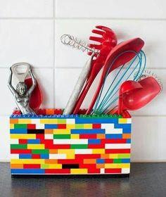 Still have legos around? Superb idea