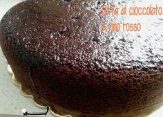 Torta al cioccolato e vino rosso Zampine in cucina