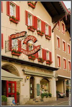 """Golling an der Salzach (Austria)  """"DÖLLERER"""" Restaurant - very fine & traditional kitchen - homemade sausages ..."""