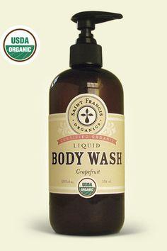 I love this USDA Organic Body Wash