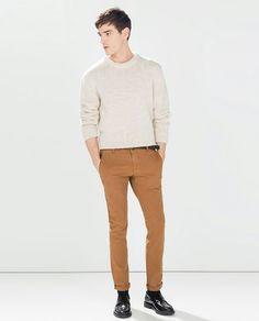 Pantalon  cafe tierra