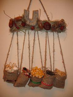 Оберег Barn Wood Crafts, Burlap Crafts, Diy Home Crafts, Craft Stick Crafts, Fall Crafts, Arts And Crafts, Diy Diwali Decorations, Harvest Decorations, Handmade Decorations