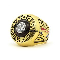 1982 Los Angeles Lakers NBA World Championship Ring.Best gift from www.championshipringclub.com for Los Angeles Lakers fans. Custom your own personalized championship ring now!