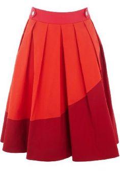 Orange & red