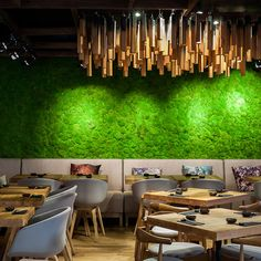 The plants signify wind (from all the oxygen they pump out), fire comes from the robata grill, water is represented by the fresh fish being served, earth is seen in the stoneware crockery brought in from Japan, and the friendly and fun atmosphere accounts for sky...