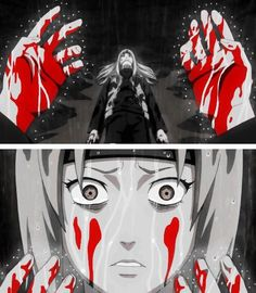 tsunade, a medical-nin that's afraid of blood? I'd forgotten about her backstory until I saw this pic, I might need to review Naruto yes? It's only been what ten years since I started?