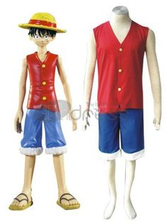 One Pice Cosplay-one piece luffy cosplay costumes Naruto Cosplay Costumes, Cosplay Boy, Halloween Cosplay, Cosplay Wigs, Anime Cosplay, Luffy Cosplay, One Piece Cosplay, Assassins Creed Cosplay, Red Costume