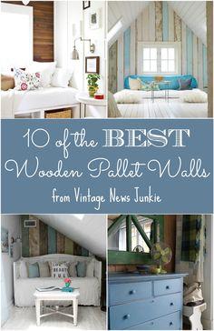 Ten of the Best Wood Pallet Walls