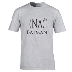 Funny tshirt for Batman lovers.  Na na na na ...batman! Batman song shirt.  Funny shirt.  Super hero shirt.  Witty tee by Pink Pig Printing. by PinkPigPrinting on Etsy